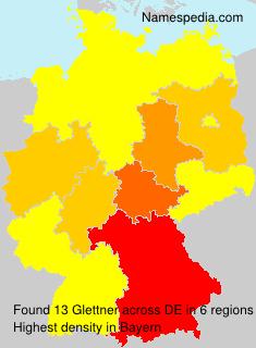 Familiennamen Glettner - Germany