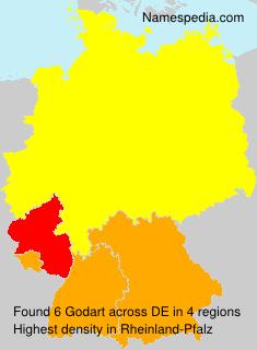 Surname Godart in Germany