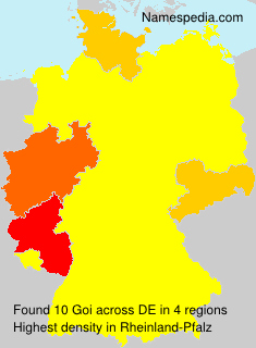 Surname Goi in Germany