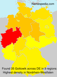 Surname Gottowik in Germany