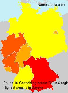 Familiennamen Gottschling - Germany