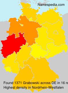 Surname Grabowski in Germany