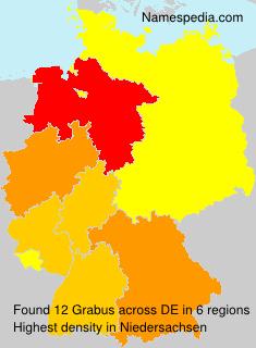 Surname Grabus in Germany