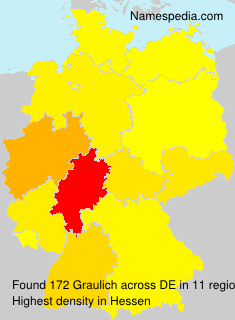 Surname Graulich in Germany