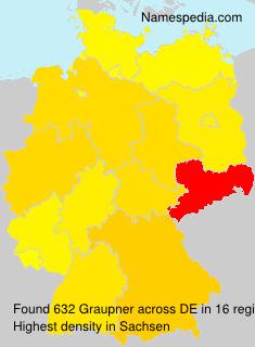 Familiennamen Graupner - Germany