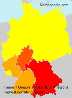 Familiennamen Grigore - Germany