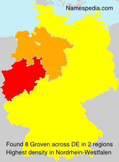 Surname Groven in Germany
