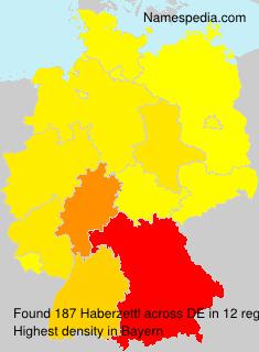 Surname Haberzettl in Germany