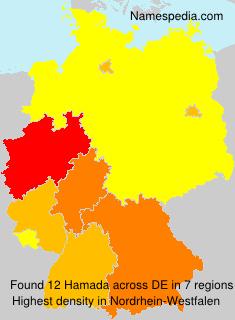 Familiennamen Hamada - Germany