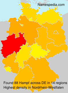 Surname Hampf in Germany
