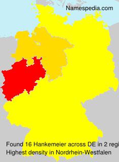 Familiennamen Hankemeier - Germany