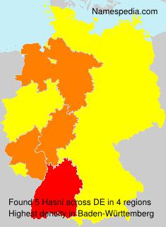 Familiennamen Hasni - Germany
