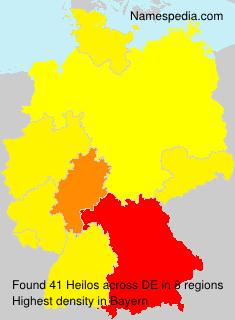 Surname Heilos in Germany
