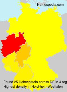 Surname Helmenstein in Germany