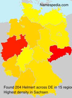 Surname Helmert in Germany