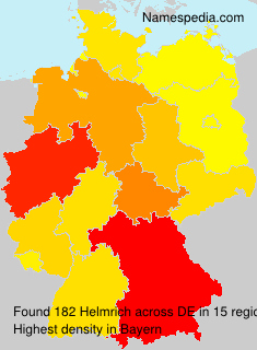 Surname Helmrich in Germany