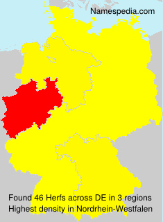 Surname Herfs in Germany