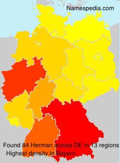 Surname Herman in Germany