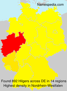 Surname Hilgers in Germany