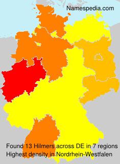 Surname Hilmers in Germany