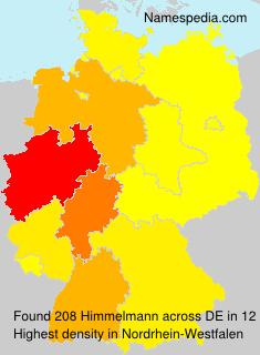 Surname Himmelmann in Germany