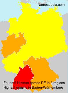 Surname Hizman in Germany