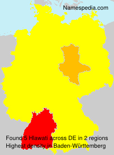 Surname Hlawati in Germany