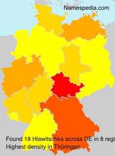 Familiennamen Hlawitschka - Germany