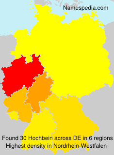 Surname Hochbein in Germany