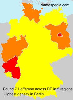 Familiennamen Hoffamnn - Germany
