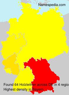 Familiennamen Holzleitner - Germany