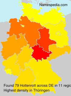 Familiennamen Hottenrott - Germany
