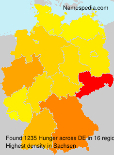 Surname Hunger in Germany