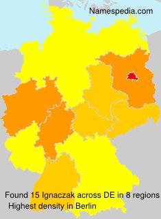 Familiennamen Ignaczak - Germany