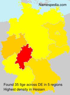 Surname Ilge in Germany