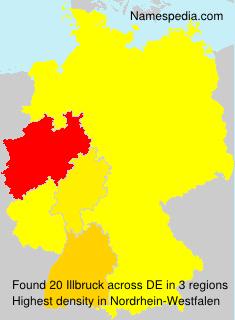 Surname Illbruck in Germany