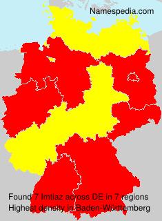 Surname Imtiaz in Germany