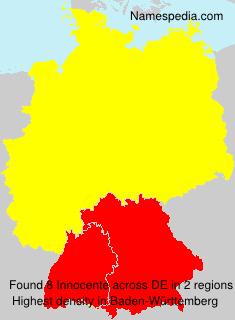 Familiennamen Innocente - Germany