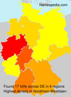 Surname Ioffe in Germany