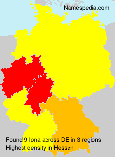 Surname Iona in Germany