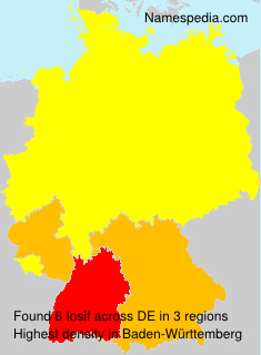 Surname Iosif in Germany