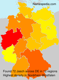 Surname Jasch in Germany