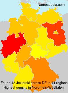 Surname Jezierski in Germany