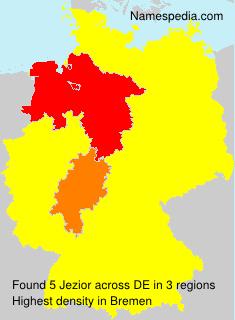 Familiennamen Jezior - Germany