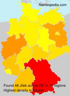 Surname Jilek in Germany
