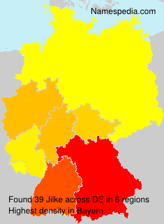 Surname Jilke in Germany