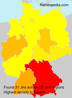 Surname Jira in Germany