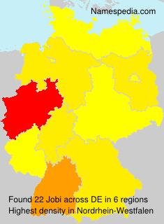 Surname Jobi in Germany