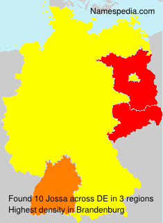 Surname Jossa in Germany