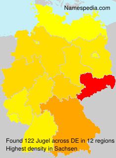 Surname Jugel in Germany